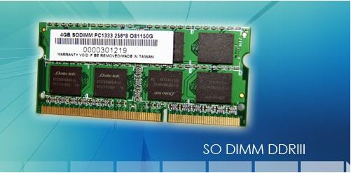 Ram Laptop DATO DDR3 PC3L 4GB bus 1600MHz