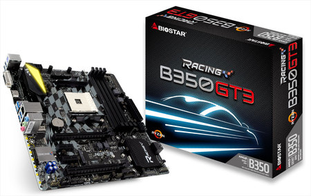 Bo Mạch chủ BIOSTAR Racing B350GT3 For AMD RYZEN