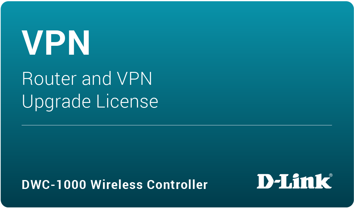 DWC-1000 VPN Upgrade License DWC-1000-VPN-LIC
